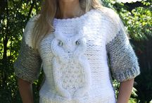 Knit jumpers on etsy by FairyTale