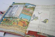 Art Journaling / Art journal pages, art journaling inspiration
