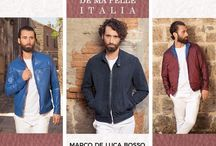 MARCO DE LUCA BOSSO brand / Marco de Luca Bosso produces leather jackets and accessories from the finest quality leather and highest quality craftsmanship. All items are 100% handmade in Italy.