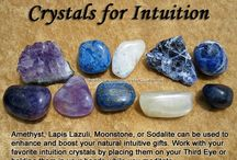 Rock it. / Crystals, gemstones, and that sort of magick.