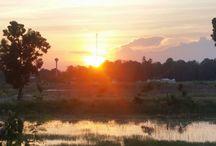 Thailand Sonnenuntergang Asien