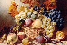 pittura con frutta
