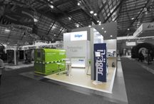 Think Green / Distinctive green exhibition stands by Expocentric