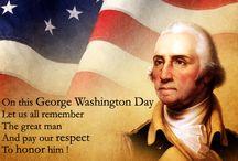 George Washington Day Card
