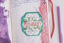 Творческий дневник | Creative Journal / Идеи ведения творческого дневника, Волшебный творческий дневник, ВТД