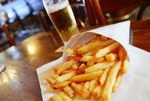 Bruxelles / Pommes frites og Bear