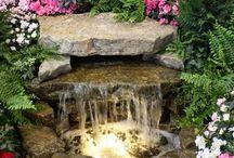 Wodospad na podwórzu