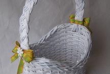pletení z papíru / Pletení z papíru