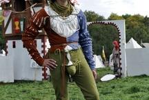 landsknecht / Possible inspiration for a landsknecht fencing outfit.