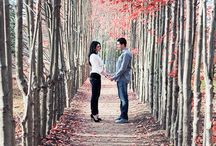 Fall love session