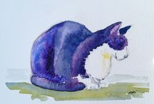 Paintings of Cats