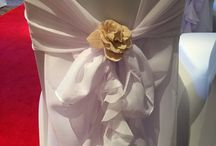 chair covers and venue dressing