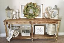 Console table decoration