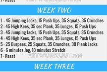 Exercices pour tout le corps