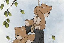 Draw taddy bear