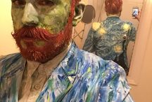 DIY Vincent Van Gogh Halloween Costume Idea / Inspiration, make up tutorials and all accessories you'll need to create your own DIY Vincent Van Gogh Costume.