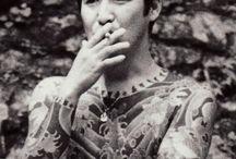 """Horiyoshi III / Horiyoshi III (Japanese: 三代目彫よし Hepburn: Sandaime Horiyoshi, born 1946 as Yoshihito Nakano (中野 義仁)) is a horishi (tattoo artist), specializing in Japanese traditional full-body tattoos, or """"suits,"""" called Irezumi or Horimono."""