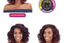 Multiple Styles Lace Wigs / Multiple styles in one wig!
