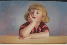 Vintage postcards / Lovely postcards from the past.