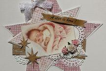 Inspiratie babykaarten