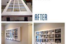 photo frame door