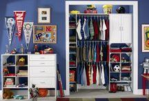 Children's closets / Organizing clothes, shoes, toys, etc.