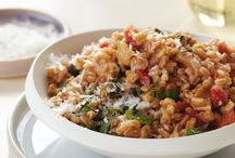 Risotto / Here, terrific risotto recipes including a broccoli rabe risotto and earthy porcini mushroom risotto. Plus, a primer on how to cook risotto. / by Food & Wine