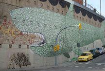 El Carmel-Graffitis / Graffitis situats en el barri del Carmel