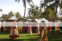 Goa Wedding / A Romantic destination wedding at Goa the beach city with Party Cruisers India's Vows.......