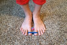 toes pain relief