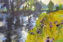 Chris Forsey / Chris taught a painting course for brush strokes in 2012. He is an inspiring and wonderful teacher and artist!