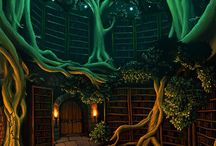 Magical library