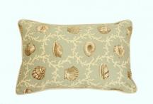 Dekoratif Yastıklar / Flok Baskılı, Keten, Pamuklu Yastıklar