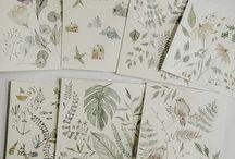 Merely Susan / Watercolor illustrations · Pattern design · Branding
