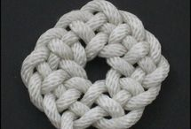 knotting, tying and weaving