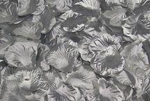 1000 petales de soie argent,fleurs ,petales de rose,decoration table mariage fete ceremonie