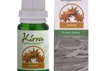 """""""AROMATHERAPY ESSENTIAL OILS"""" / This board is about various essential oils which is pure natural for aromatherapy purpose made in KIRRA'S laboratory"""