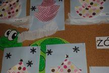 moje / Moje pomoce i prace plastyczne z dziećmi