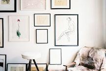 Cuadros / Cómo decorar con cuadros
