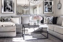 elegant grey lounges
