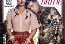 Cover Feature - Harper's Bazaar Bride / Sonakshi Sinha in the cover story of Harper's Bazaar Bride, in Anita Dongre.