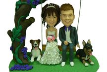 Cake toppers / by Elizabeth Parra