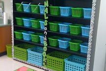 organising storage in classroom