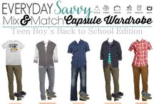 Boys teenager fashion