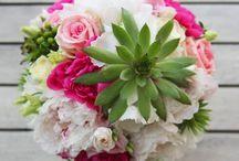 Natural elegant wedding decoration