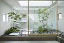 Jardin zen d'intérieur