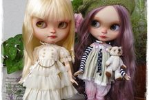 "My Blythes ""Antique Shop Dolls"" / custom Blythe and Icy dolls"