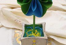 Decoracion con papel / by Adriana Jaramillo
