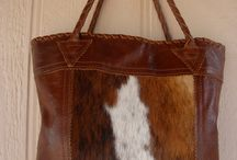Tote bag with hair