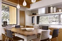 Kitchen window splashback / design